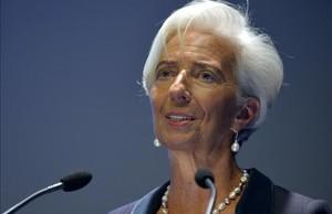 Christine Lagarde, directora del Fondo Monetario Internacional, en una foto de archivo del 12 de enero del 2016.
