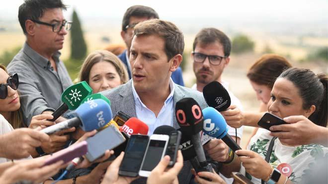 Ciudadanos espera que PSOE-A rectifique y cumpla el pacto en Andalucía.