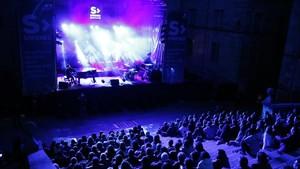 El concierto de Joan Dausà que clausuraba el festival Strenes de Girona
