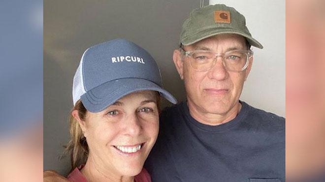 Tom Hanks i Rita Wilson han tornat a Los Angeles