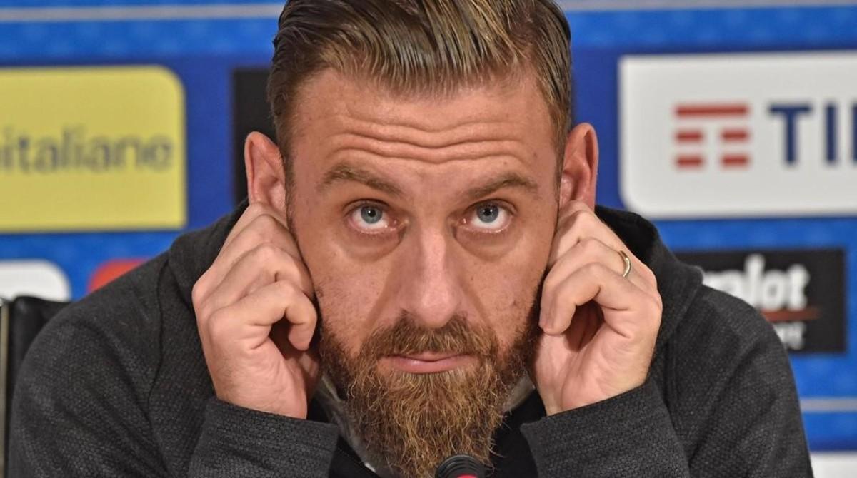 Daniele De Rossi, de la selección italiana de fútbol.