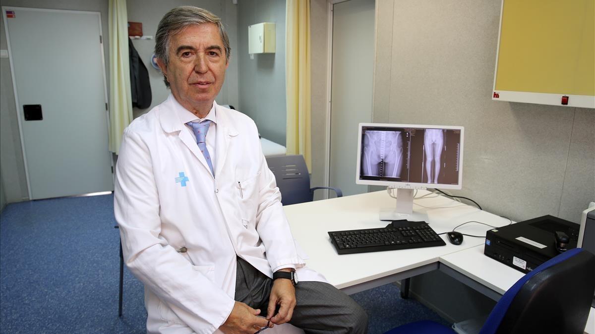 El doctor Miquel Vilardell.