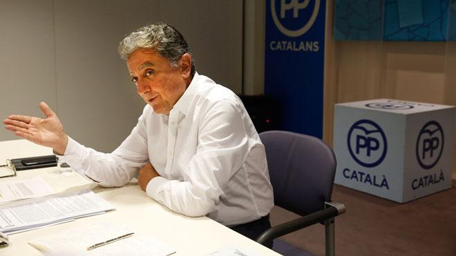 Entrevista a Enric Millo, exdelegado del Gobierno en Catalunya