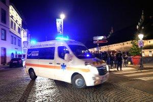 El centro de Estrasburgo ha quedado acordonado en un radio de 200 metros en torno a la plaza Gutenberg.