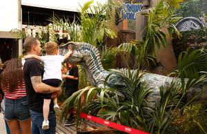 La Jurassic World Experience, en el centro comercial La Maquinista hasta el 26 de junio.