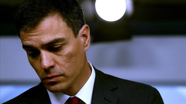 El exsecretario general del PSOEPedro Sánchez.