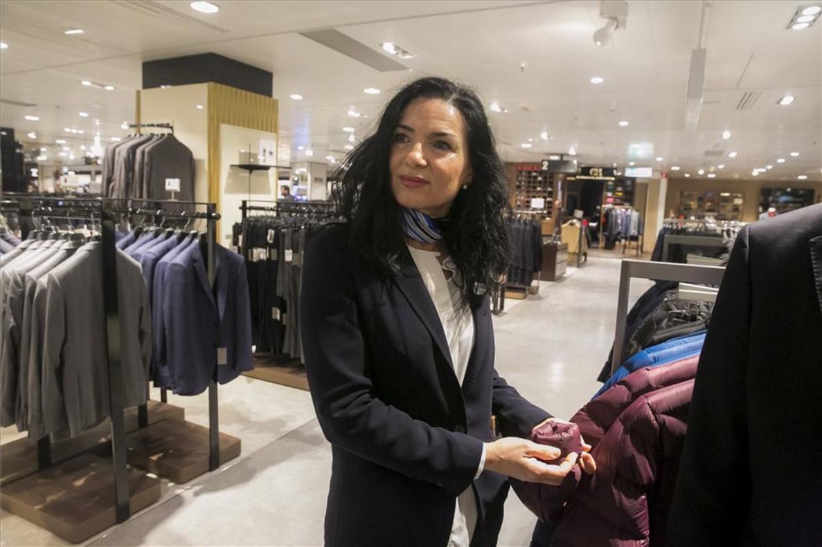 Fátima Díaz, trabajadora de El Corte Inglés.