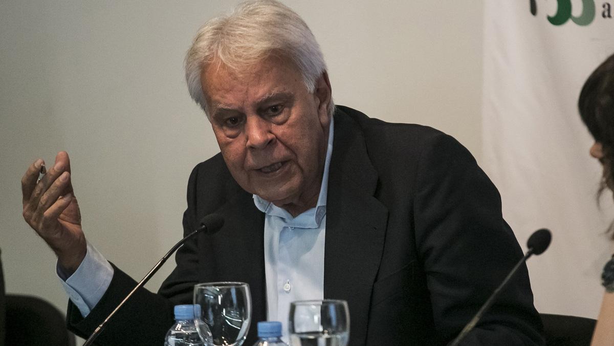"""Felipe González: """"Hay supremacismo en el independentismo, aunque no tan explícito como el de Trump"""""""