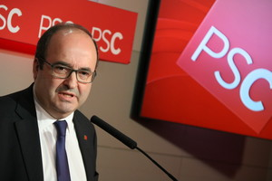 Iceta critica el Govern per voler canviar la política lingüística de Catalunya