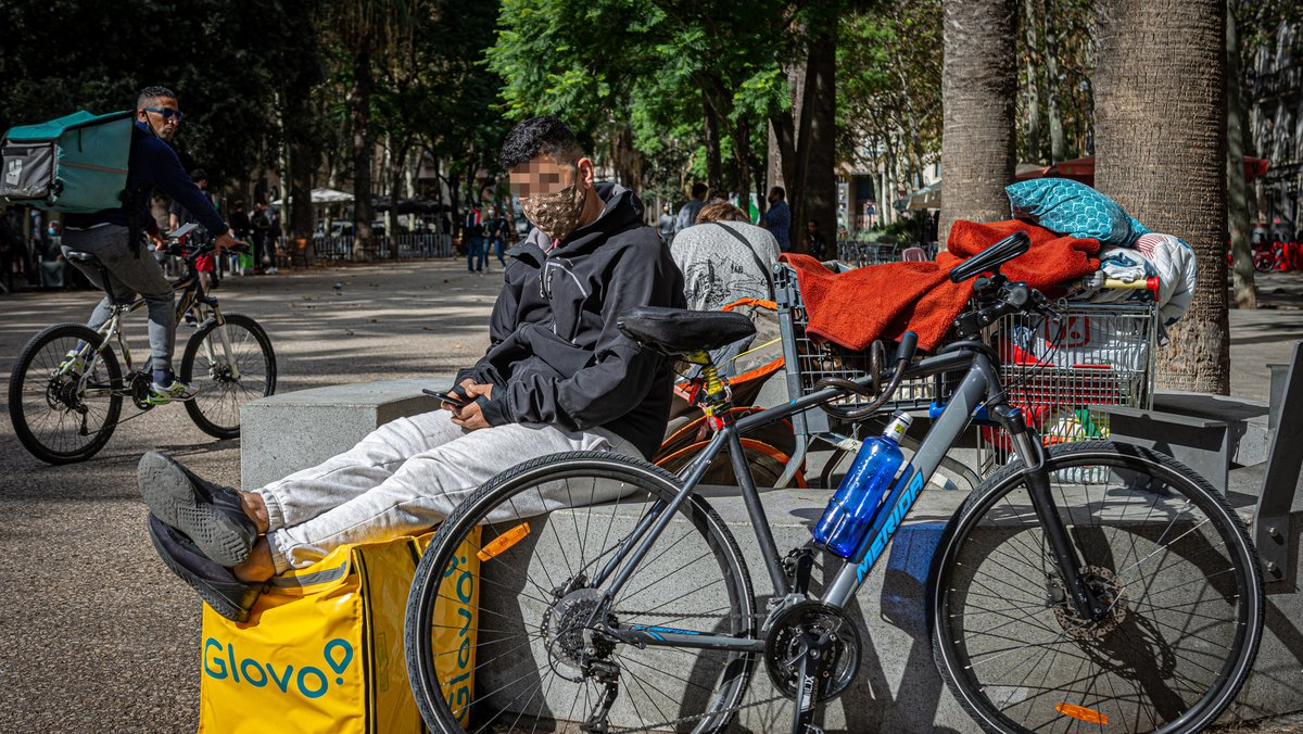 Mercadejos a Glovo: pagar per pedalar