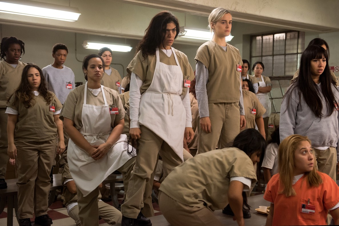 Imagen de la cuarta temporada de 'Orange is the new black'.