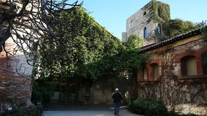 Interior del recinto de Palo Alto, en el Poblenou de Barcelona.