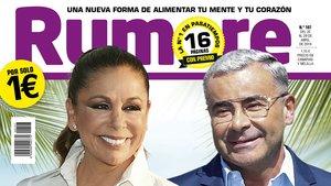 Isabel Pantoja y Jorge Javier Vázquez, en la portada de Rumore.