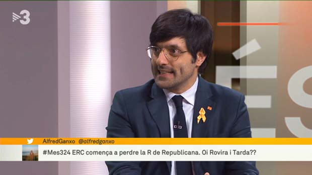 Joan Maria Piqué en TV-3