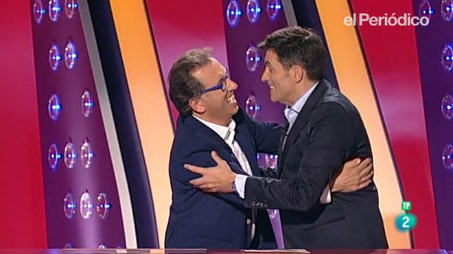 Jordi Hurtado torna a 'Saber y ganar''i s'acomiada de Larrodera.