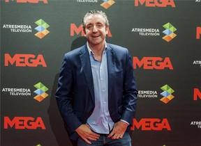 Josep Pedrerol, presentador de El chiringuito de jugones, en Mega.