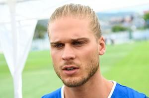 El jugador islandés Rurik Gislason.