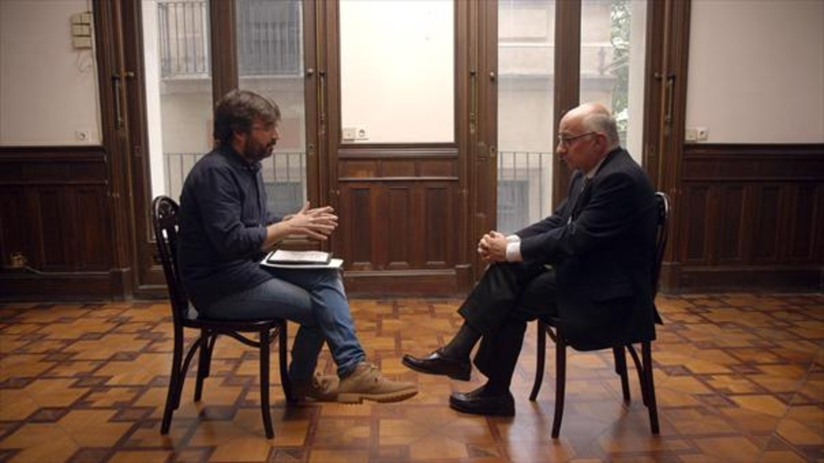 Jordi Évole conversa con Josep Maria Caminal, exdirector general del Liceu.