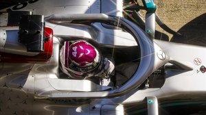 Lewis Hamilton no quiso demostrar, hoy, en el Circuit todo el poderio de su Mercedes.