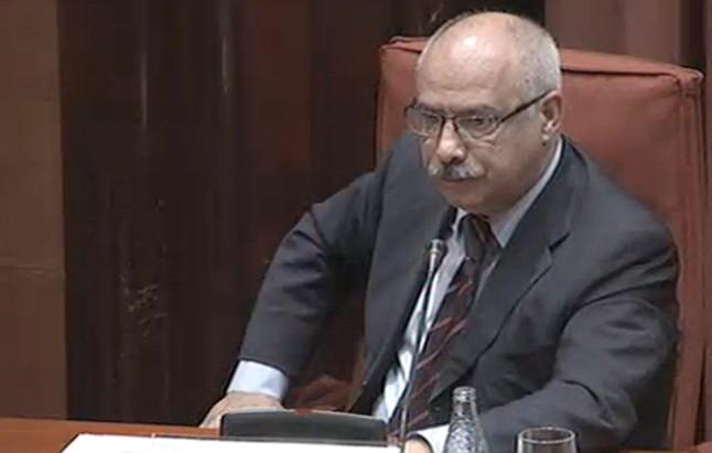 Lluís Garcia, alias 'Luigi', en la 'comisión Pujol'.