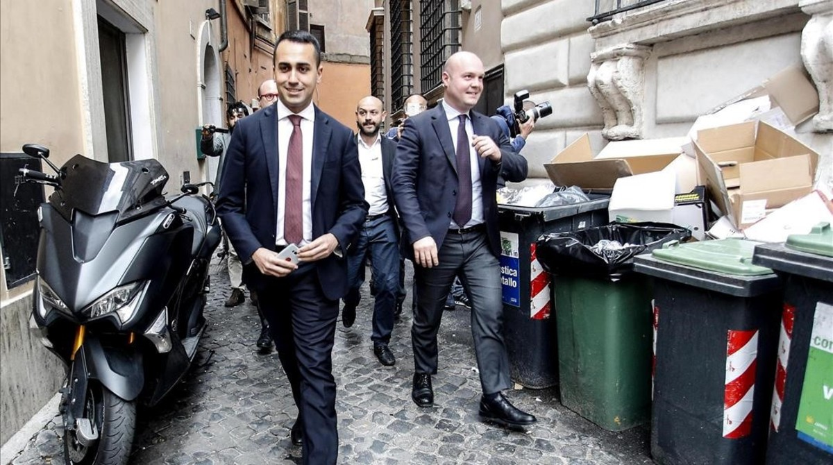 Luigi de Maio, en Roma el viernes.