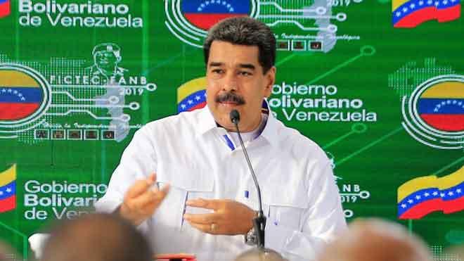 Maduro anuncia una inversión inmediata en Huawei.