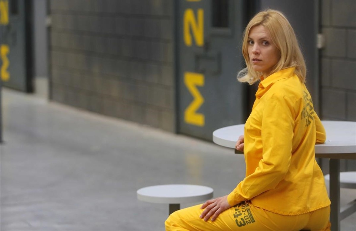 La actriz Maggie Civantos, en una imagen de la serie de A-3 'Vis a vis'.