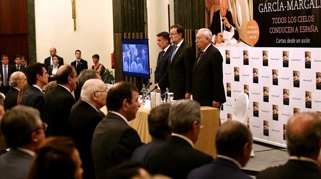 Mariano Rajoy, en la presentación del libro del ministro José Manuel García-Margallo.