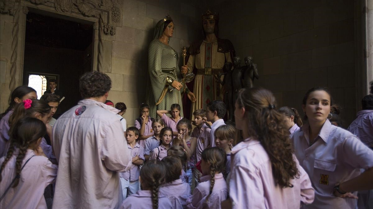 Jornada histórica de Castellers.