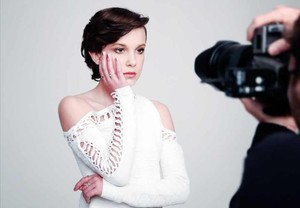 Sesión de fotos de Millie Bobby Brown.