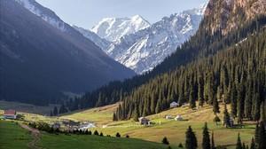Montañas de Kirguizistán