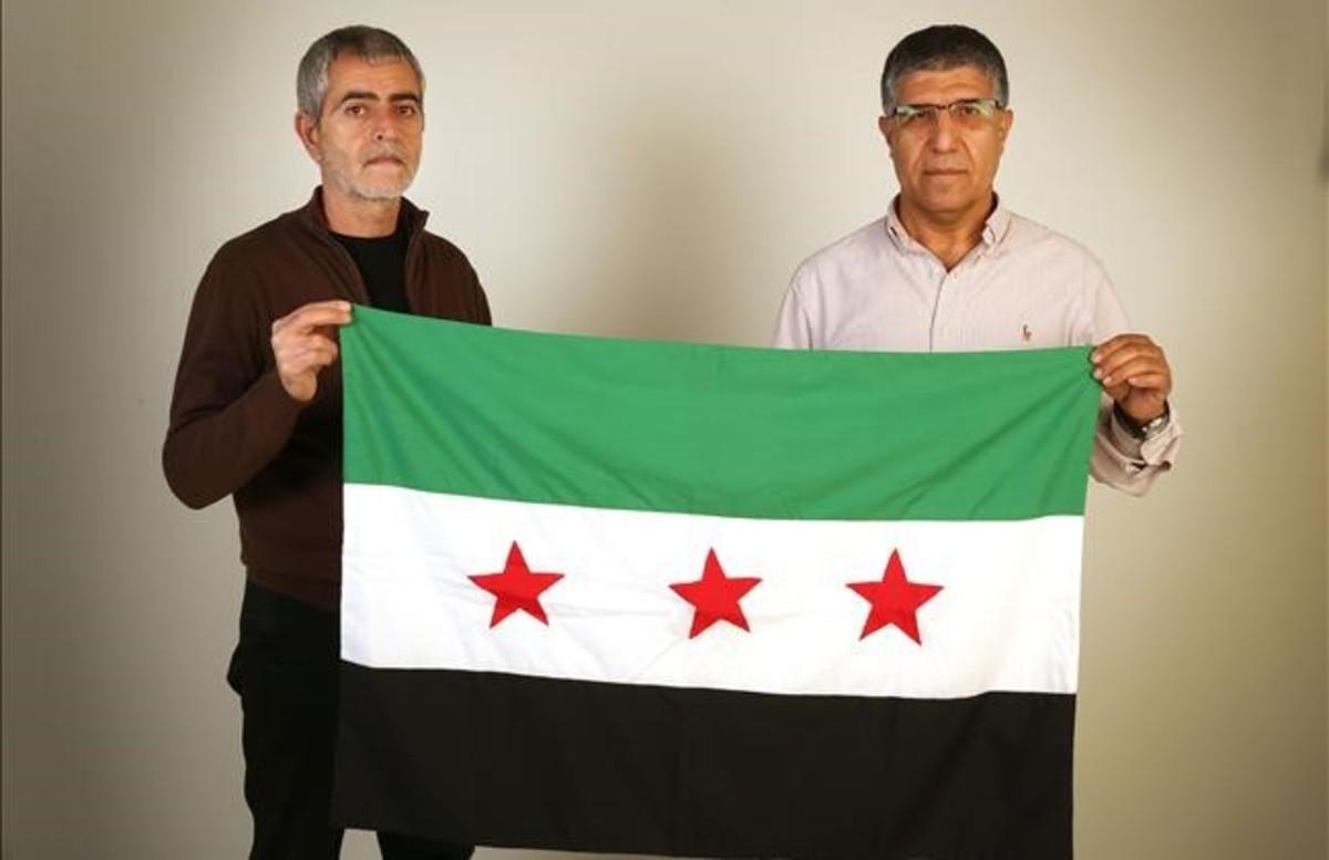 Mouafak Asaad y Zaki Alrif,en EL PERIÓDICO.