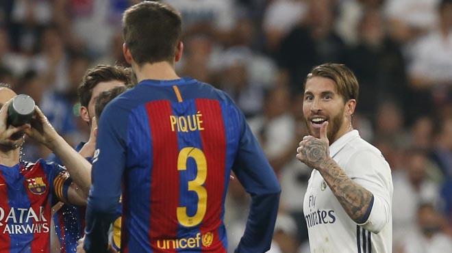 Sergio Ramos i Gerard Piqué van tenir ahir a la nit un nou intercanvi de declaracions a compte de lexpulsió.