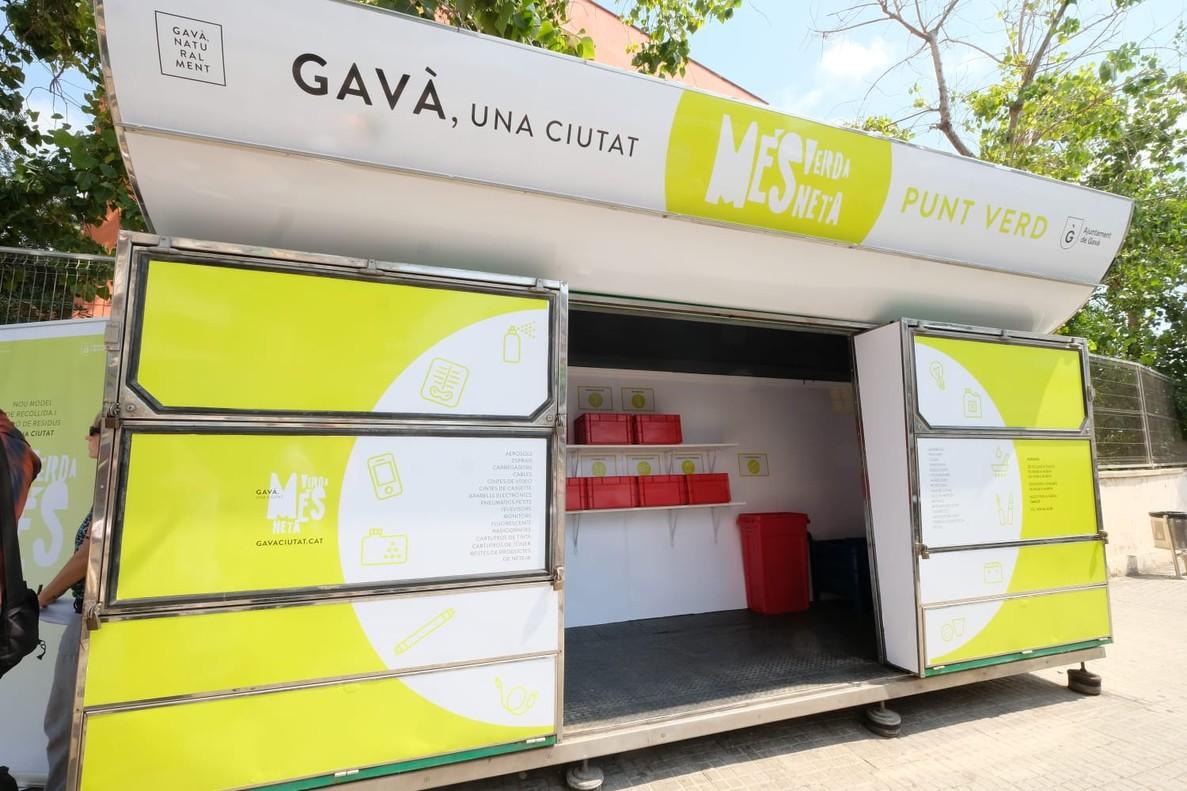 Nuevo Punto Verde instalado este verano en Gavà