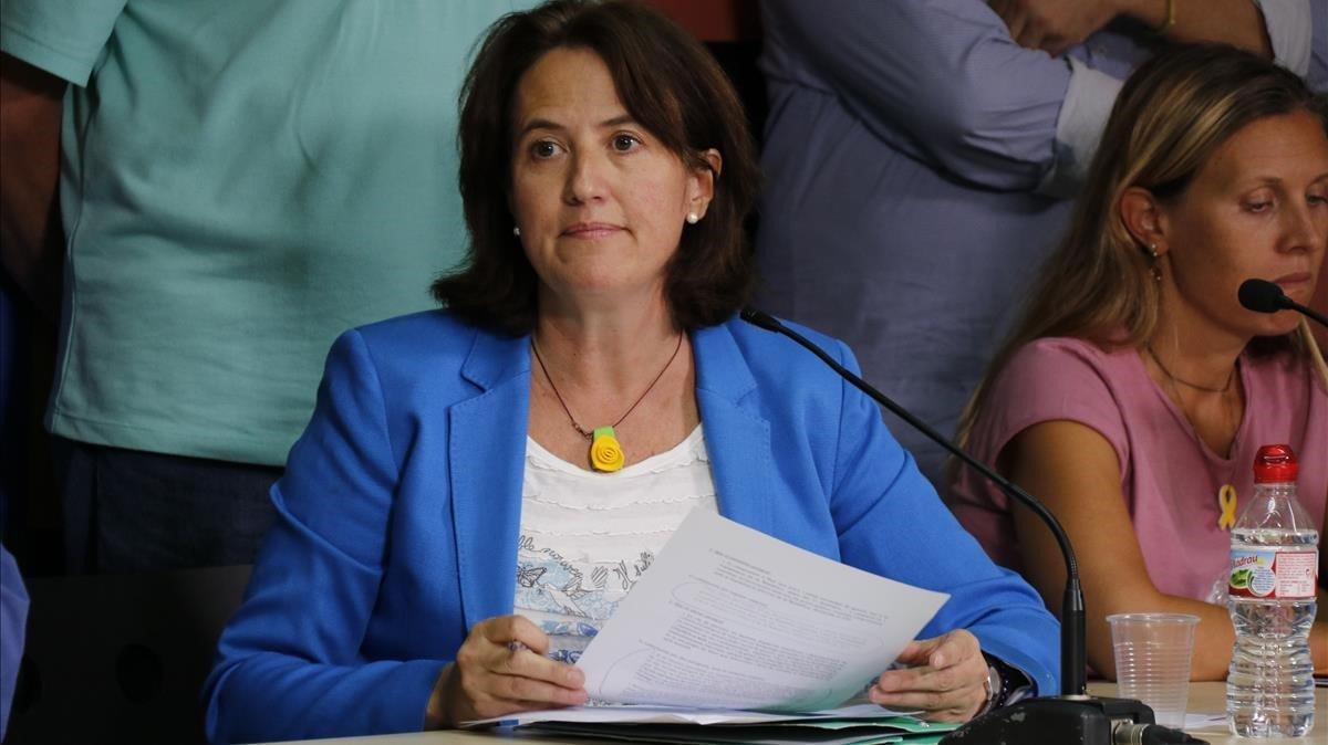 Elisenda Paluzie, presidenta de la Assemblea Nacional Catalana (ANC).