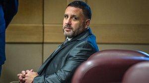 Pablo Ibar, durante su comparecencia en este último juicio, el pasado mes de octubre.