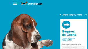Página web de Rastreator.