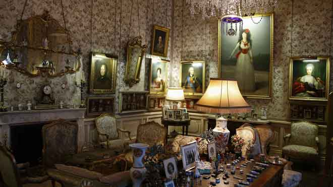 El Palacio de Liria abre sus puertas al público.