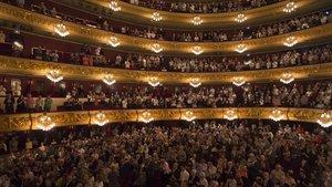 Panorámica del Gran Teatre del Liceu