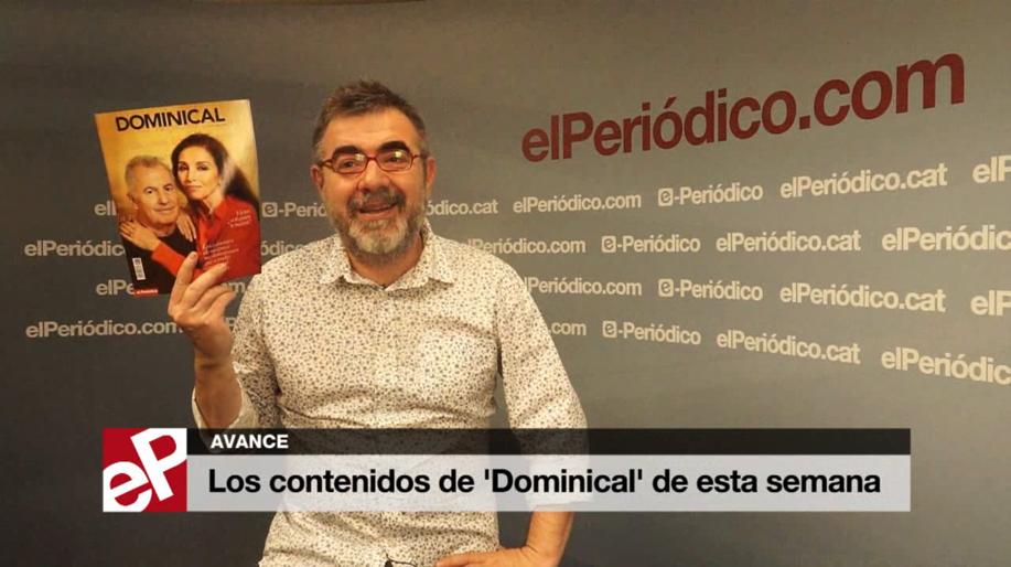 Pau Arenós presenta los contenido del 'Dominical' de esta semana.
