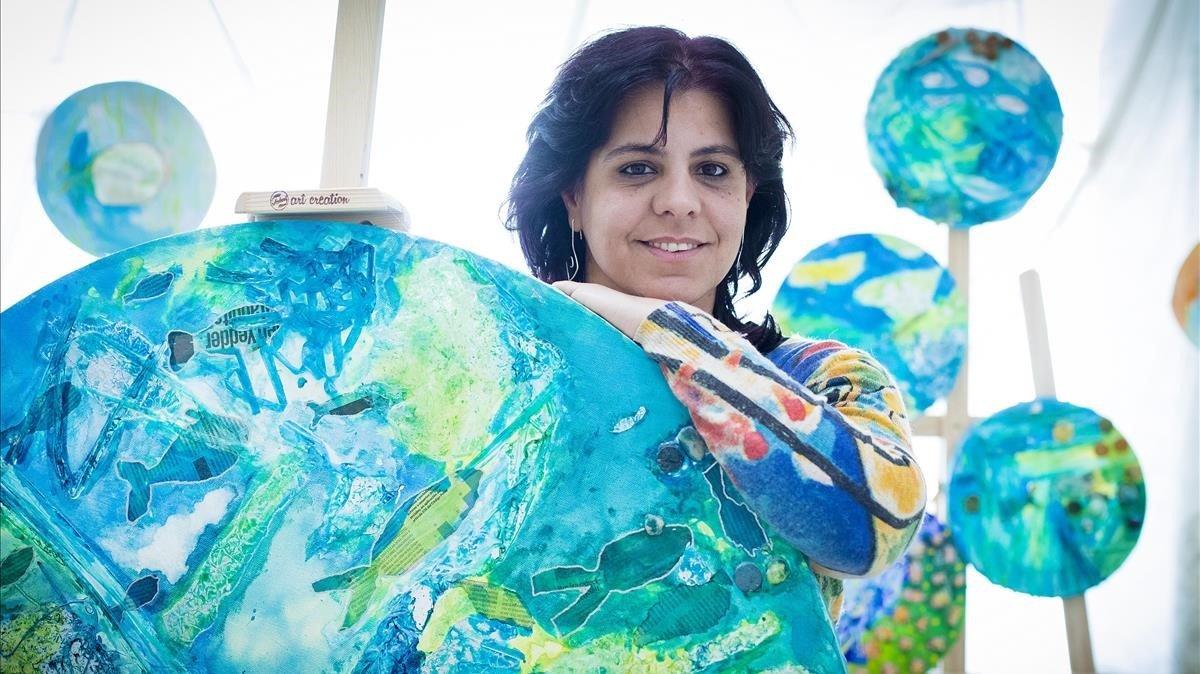 La pedagoga Eva Vilanova, responsable del proyecto 'Tiretades'.