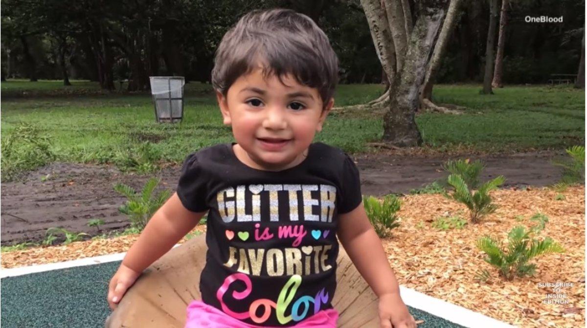 La pequeña Zainab.