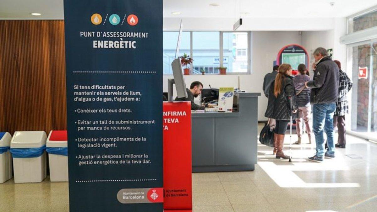 Els punts d'assessorament energètic impedeixen més de 37.400 talls de subministraments bàsics a la ciutadania
