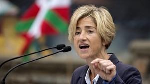 Pili Zabala, candidata de Podemos Euskadi a las elecciones vascas.