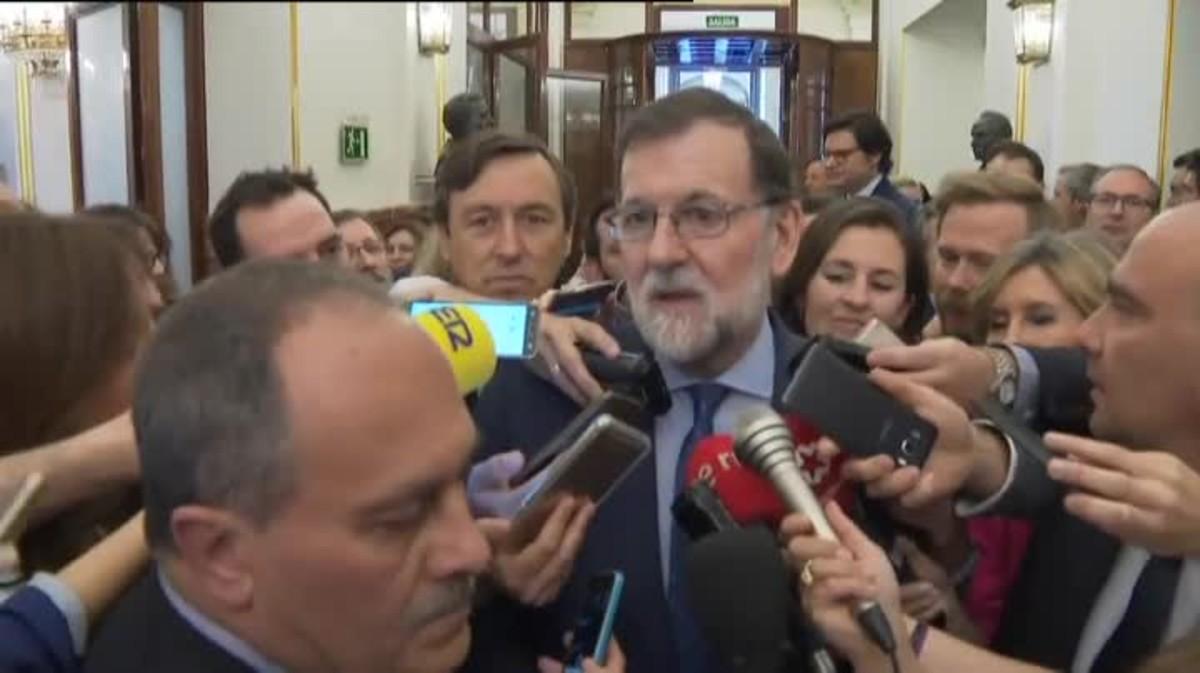 Mariano Rajoy ha asegurado que la dimisión de Cristina Cifuentes como presidenta de la Comunidad de Madrid era obligada.