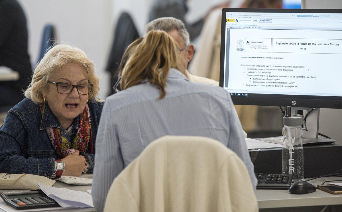 Els tècnics d'Hisenda demanen prorrogar la campanya de la Renda fins a final de setembre