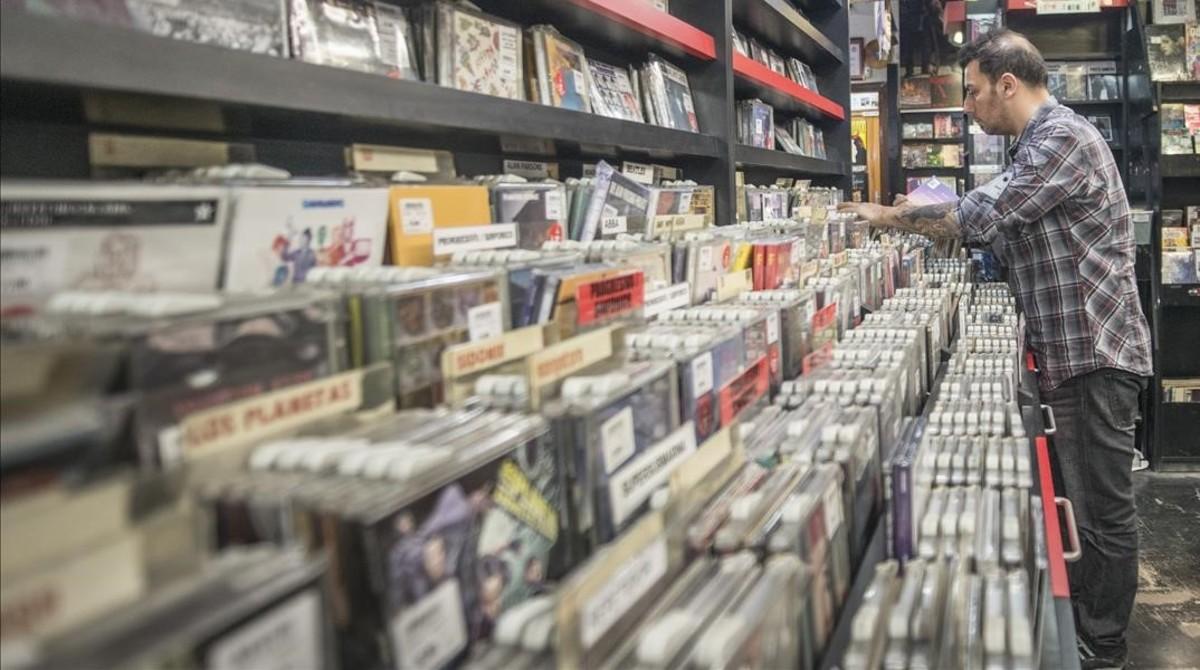 La industria discográfica logra su mayor repunte en 20 años