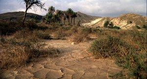 El desierto de Tabernas, en Almería.