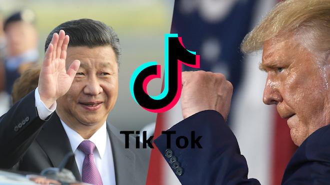Trump apunta a TikTok en su cruzada contra China.