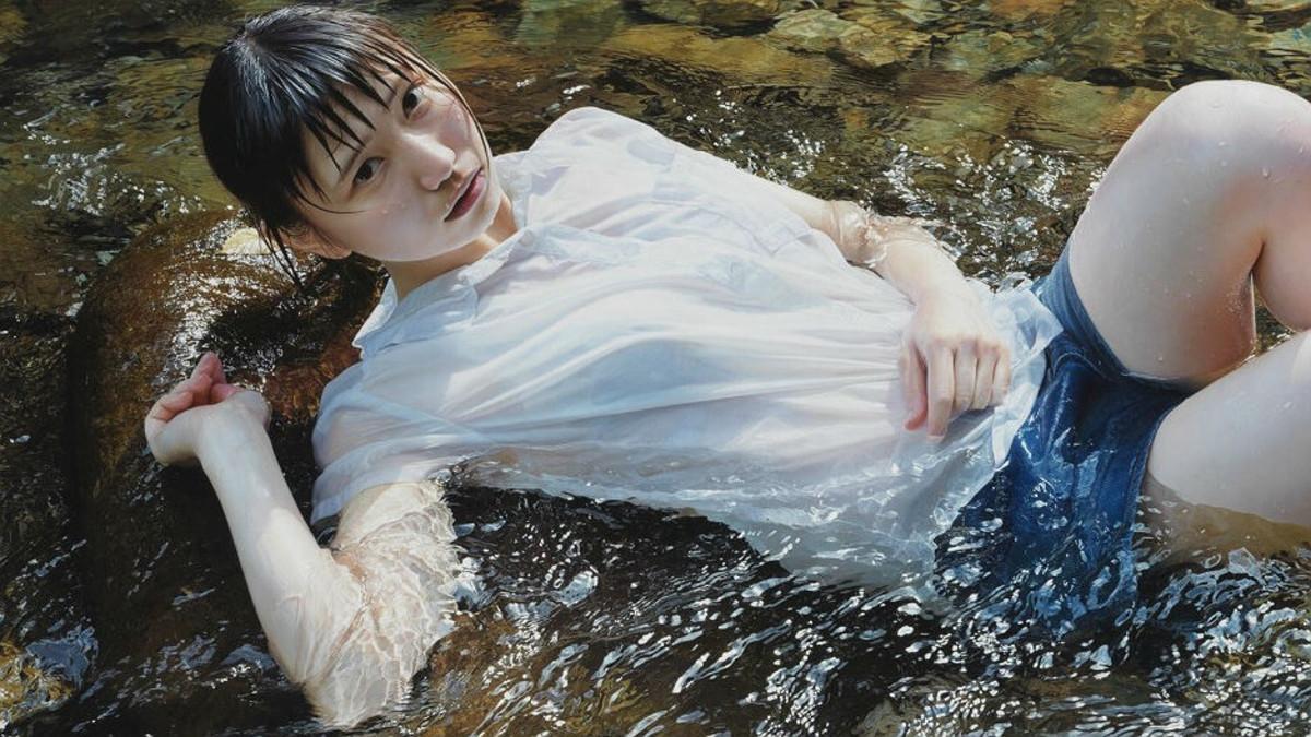 Una de las pinturas que parecen fotos del artista japonés Kei Mieno.